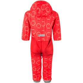 Color Kids Tajo Mini Softshell Combinaison Enfant, racing red